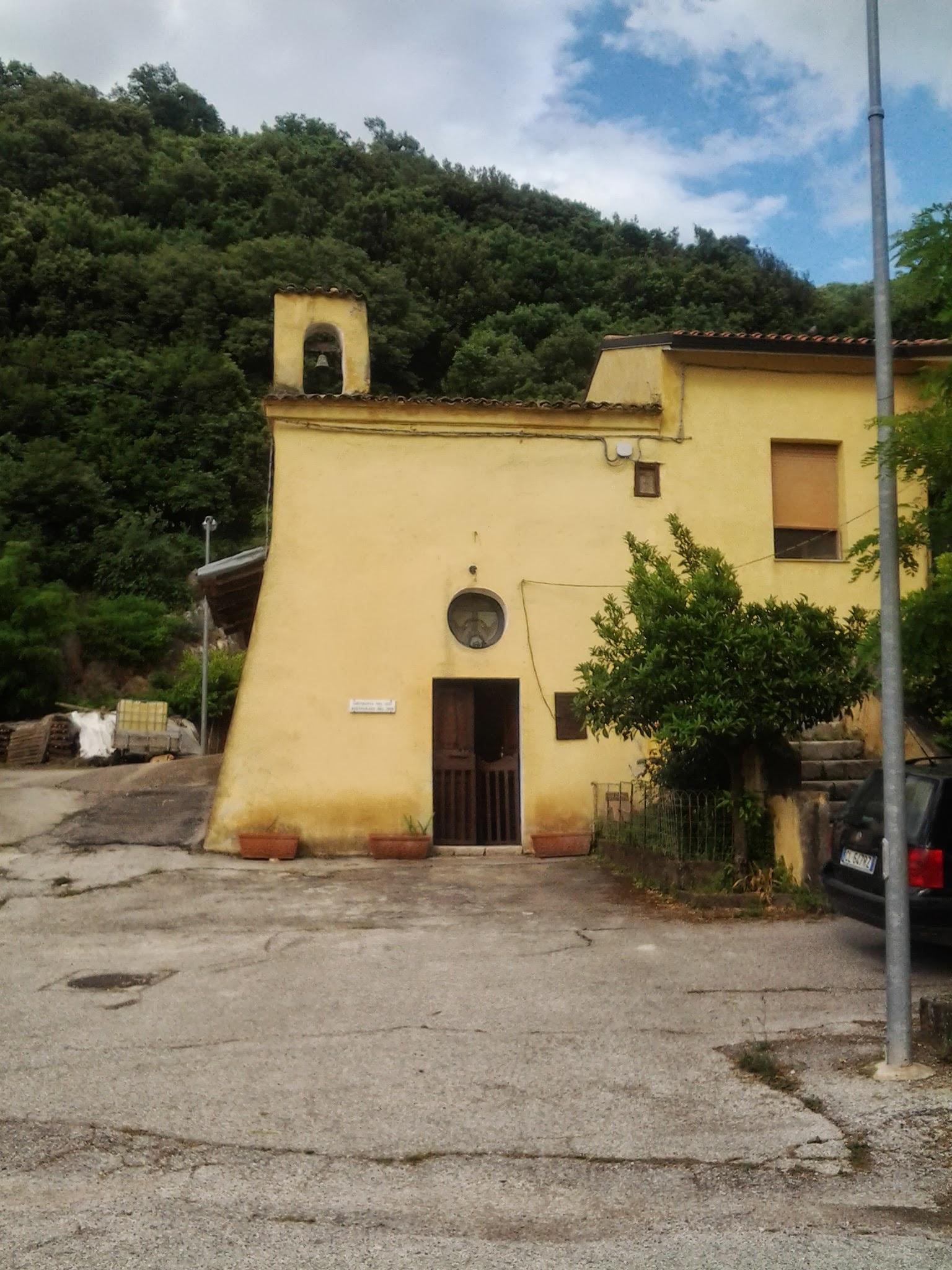 Restauro Cappella di Sant'Anna- comune di Pratella .frazione Mastrati (Ce)
