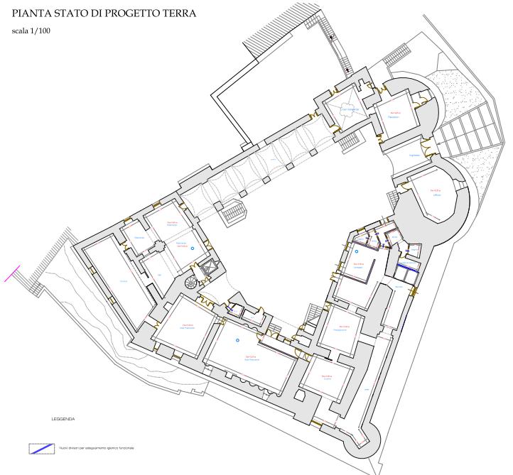 Restauro e risanamento funzionale del Castello di Faicchio (Bn)
