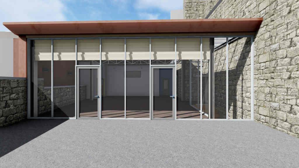 Progetto di Riqualificazione di un'area pertinenziale del Castello di Faicchio (Bn)