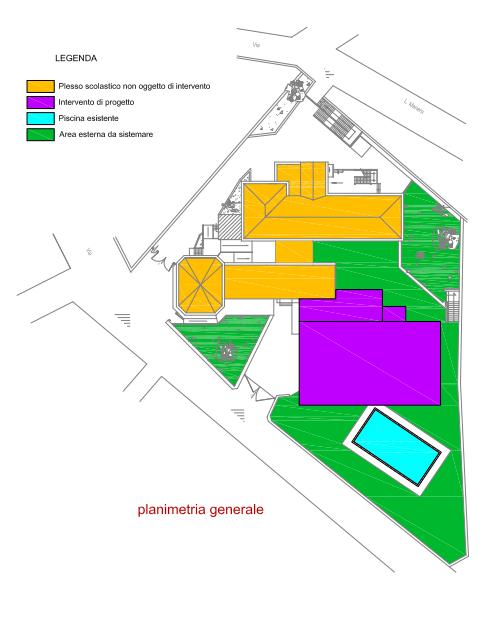 Studio di fattibilità per la ricostruzione di una Palestra scolastica