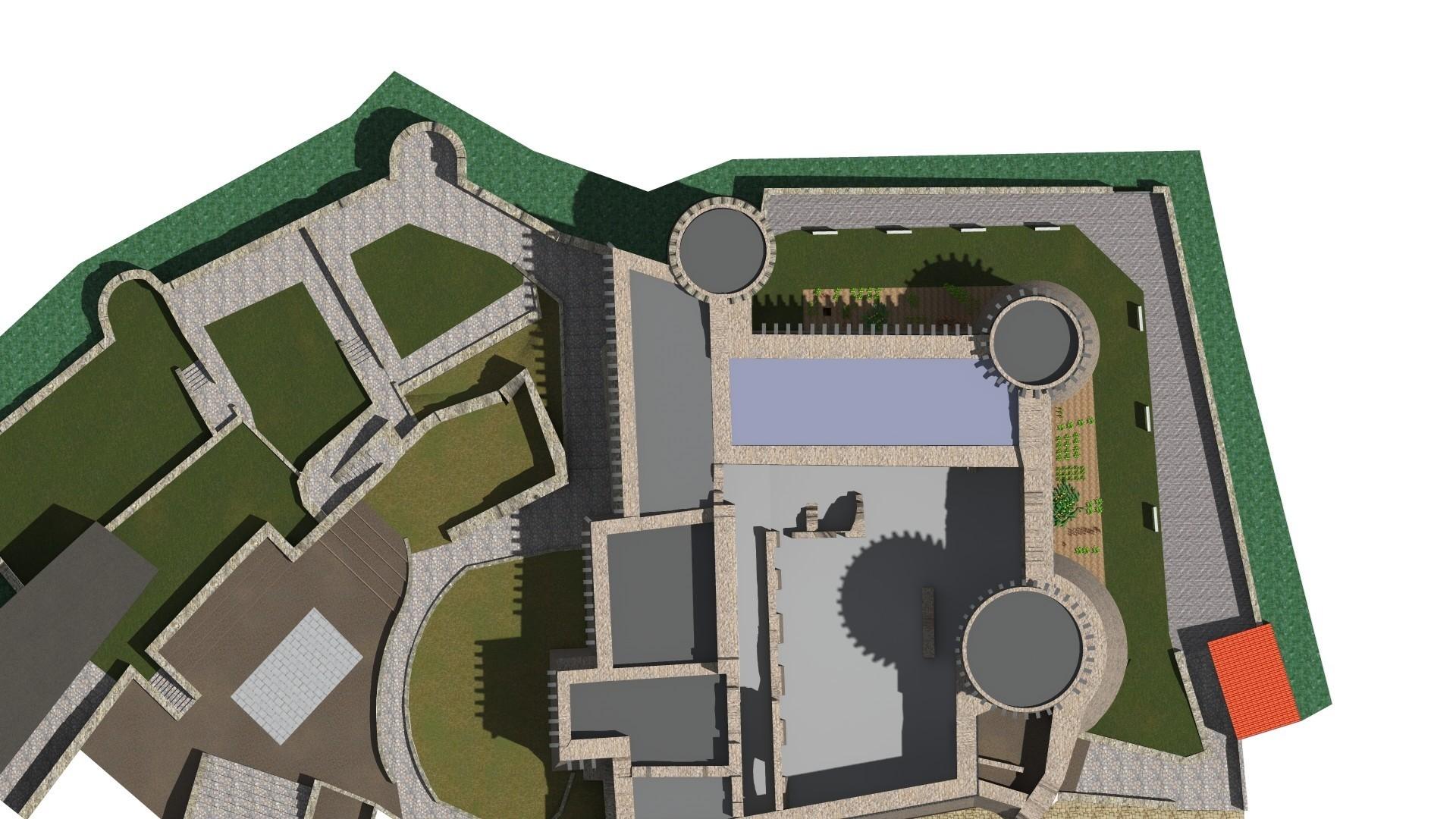 Progetto per la ricostruzione virtuale del Castello di Riardo (Ce)